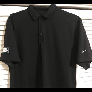 Bud Light Nike golf polo